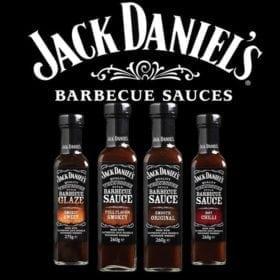 Jack Daniel's BBQ szószok